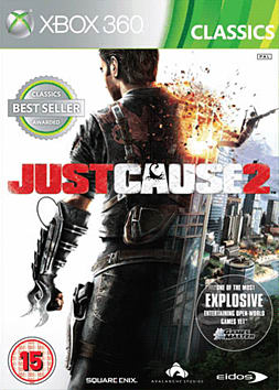 Just Cause 2 (Classics) Xbox 360 Cover Art