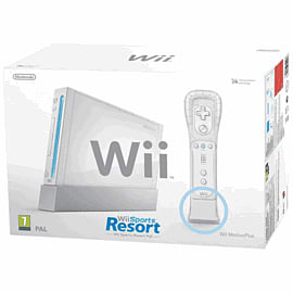White Wii Console with Wii Remote Plus Wii 