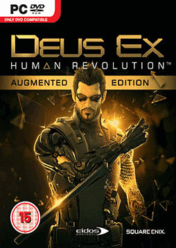 Deus Ex: Human Revolution Augmented Edition PC Games and Downloads Cover Art