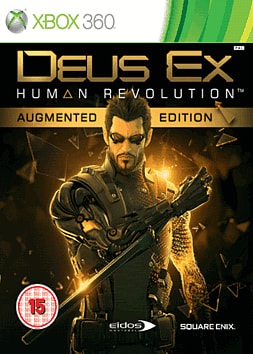 Deus Ex: Human Revolution Augmented Edition Xbox 360 Cover Art