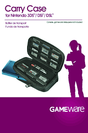 GAMEWare Carry Case for DS Accessories