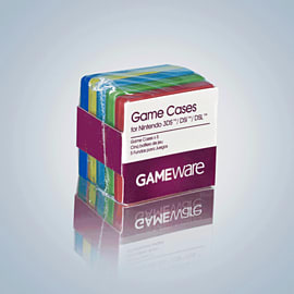 GAMEware Game Cases x5 for 3DS/DSi/DSL Accessories