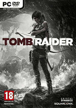 Tomb Raider PC Games Cover Art
