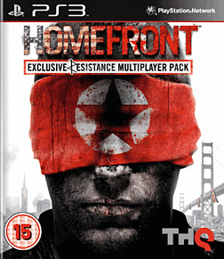 Homefront Limted Edition PlayStation 3 Cover Art