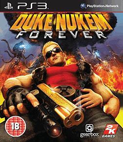 Duke Nukem Forever PlayStation 3 Cover Art