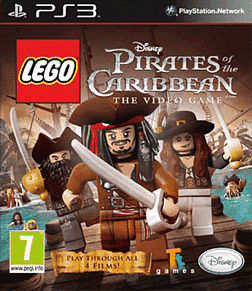 LEGO Pirates of the Caribbean PlayStation 3 Cover Art