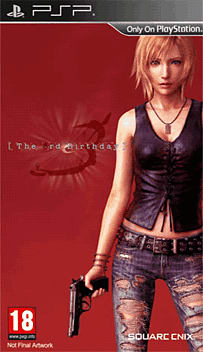 The Third Birthday PSP Cover Art