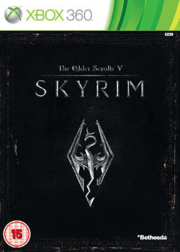 The Elder Scrolls V: Skyrim Xbox 360 Cover Art