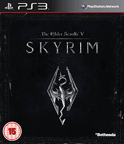 The Elder Scrolls V: Skyrim PlayStation 3 Cover Art
