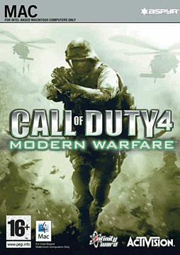 Call of Duty 4: Modern Warfare (MAC) Mac Cover Art