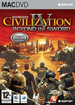 Sid Meier's Civilization IV: Beyond the Sword (MAC) Mac Cover Art