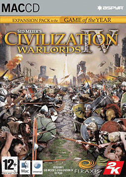 Sid Meiers Civilization IV - Warlords (MAC) Mac Cover Art