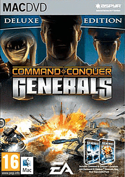 Command & Conquer Deluxe Mac Cover Art
