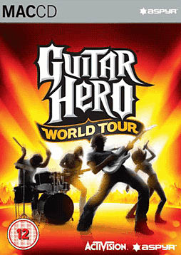 Guitar Hero World Tour (inc wireless guitar controller) Mac Cover Art