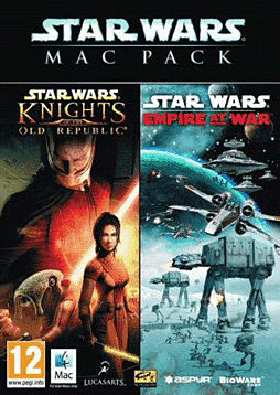 Star Wars Mac Pack (Empire at War & Knights Of The Old Republic) Mac Cover Art