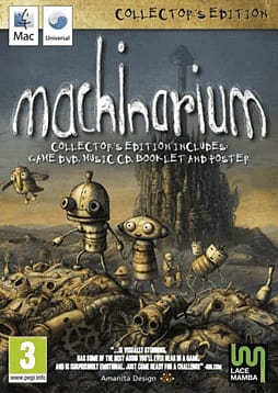 Machinarium Mac Cover Art