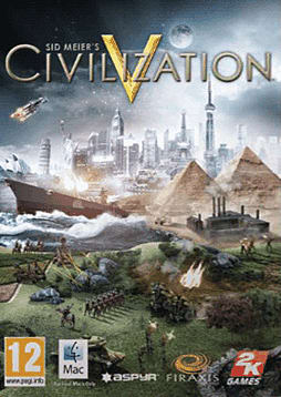 Sid Meier's Civilization V (MAC) Mac Cover Art