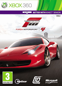 Forza Motorsport 4 Xbox 360 Cover Art