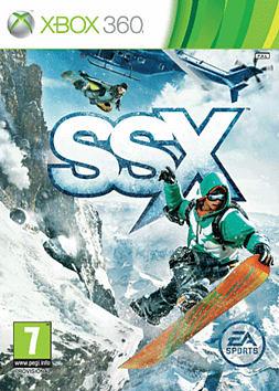 SSX Xbox 360 Cover Art