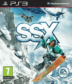 SSX PlayStation 3 Cover Art