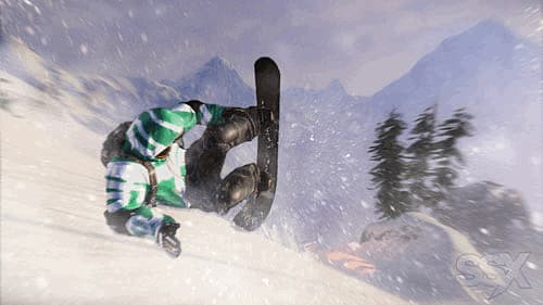 Pull off tricks and combos in SSX at GAME