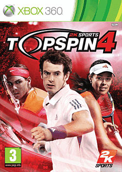 Top Spin 4 Xbox 360 Cover Art
