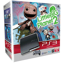 Sony PlayStation 3 320GB with LittleBigPlanet 2 Console