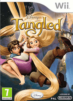 Tangled Wii Cover Art