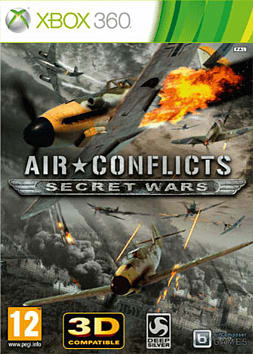 Air Conflicts - Secret Wars Xbox 360 Cover Art