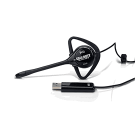 Black Ops Headbanger Headset for Wii Accessories