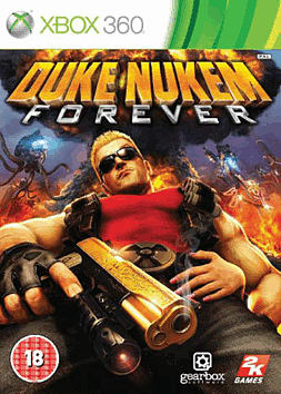 Duke Nukem Forever Xbox 360 Cover Art