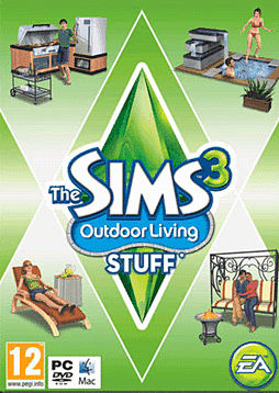 The Sims 3: Outdoor Living Stuff PC Games and Downloads Cover Art