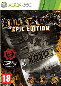 Bulletstorm Epic Edition Xbox 360 Cover Art