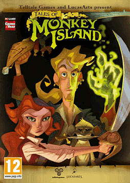Tales of Monkey Island Premium Edition PC Games Cover Art
