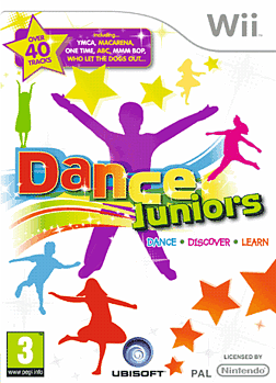 Dance Juniors Wii Cover Art