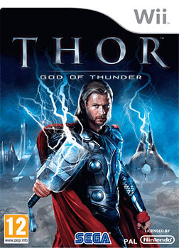 Thor: God of Thunder Wii Cover Art