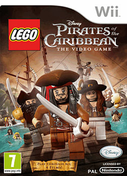 LEGO Pirates of the Caribbean Wii Cover Art