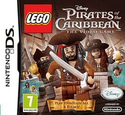 LEGO Pirates of the Caribbean DSi and DS Lite Cover Art
