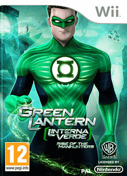 Green Lantern: Rise of the Manhunters Wii Cover Art