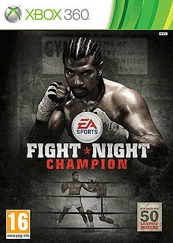 Fight Night Champion Xbox 360 Cover Art