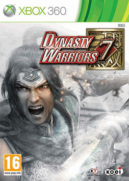 Dynasty Warriors 7 Xbox 360 Cover Art