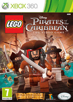 LEGO Pirates of the Caribbean XBOX 360 Cover Art