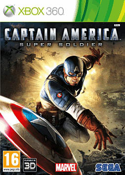 Captain America: Super Soldier Xbox 360 Cover Art