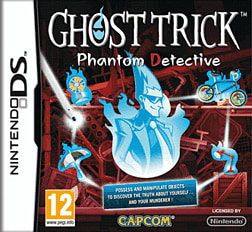 Ghost Trick Phantom Detective DSi and DS Lite