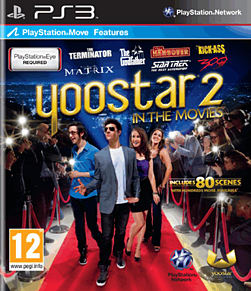Yoostar 2: In the Movies PS3 Cover Art