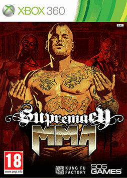 Supremacy MMA Xbox 360 Cover Art