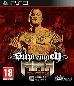 Supremacy MMA PlayStation 3 Cover Art