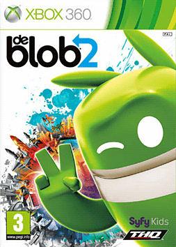 deBlob 2: Underground Xbox 360 Cover Art