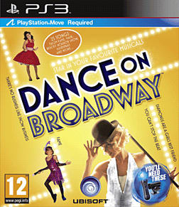 Dance on Broadway PlayStation 3 Cover Art