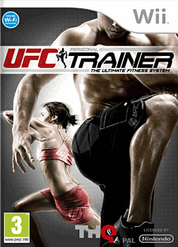 UFC Personal Trainer Wii Cover Art